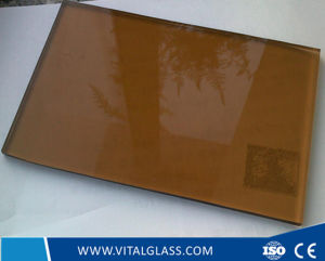 Clear/Bronze/Golden Bronze Glass/Tinted/Stained Float Glass pictures & photos