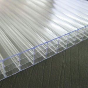 UV Protected Four Wall Hollow Polycarbonate Sheet for Sabic pictures & photos