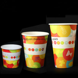 High Quality Hot Sale 8oz Espresso Single Wall Parper Coffee Cup pictures & photos