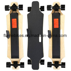 4 Wheels Double Driver Electric Longboard for Adults pictures & photos