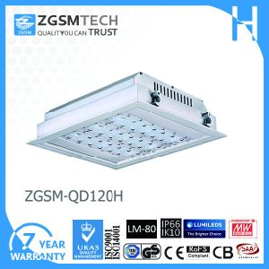 IP66 Waterproof Outdoor Embedded 120W LED Gas Station Canopy Lights pictures & photos