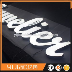 Colorful Front Lit Acrylic Letters Making Sign pictures & photos