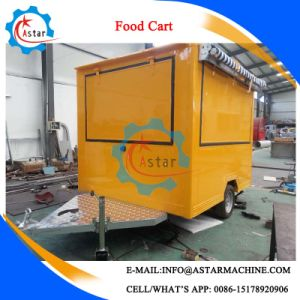 Customized China Electric Food Cart Manufacture pictures & photos