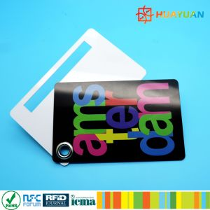 Custom Logo Plastic Luggage Tags with plastic rope for luggage management pictures & photos