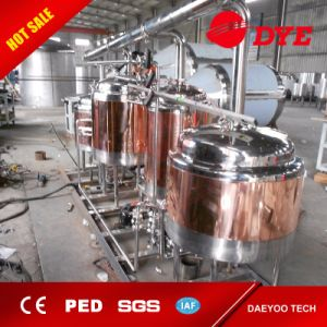 Beer Brewing System with Copper Cladding and Decoration for Hotel pictures & photos