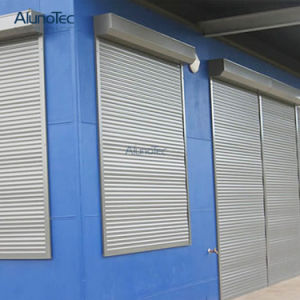 Electric Aluminium Rolling Window/Door/Electric Aluminum Roller up Shutter pictures & photos