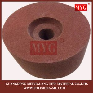"""8""""X3"""" Non Woven Polishing Wheel with Special Hole pictures & photos"""