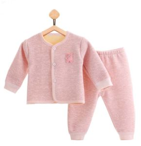 2017 New Fashion Long Sleeve Trousers Warm Suit Baby Apparel pictures & photos