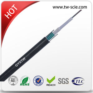 GYXTW Metal Strength Steel Wire Armored 12 Core Single Mode Fibre Optic Cable pictures & photos