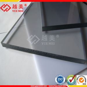 Virgin Material Plastic Polycarbonate Solid Sheet PC Building Materails Bullet Proof Panels pictures & photos
