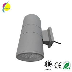LED Wall Lamp Cylinder 18W*2 LED Wall Light ETL Approved Outdoor LED Wall Sconce - up Down Outdoor Wall Fixture pictures & photos