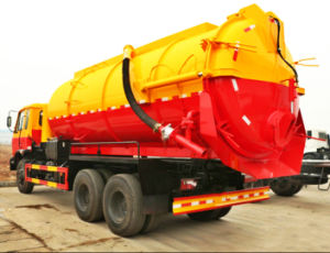 Various Specialized Vehicle 10m3 Sewage Fecal Suction Truck pictures & photos