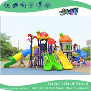 2018 New Design Outdoor Children Little Animal Playground with Double Slide (H17-A8) pictures & photos