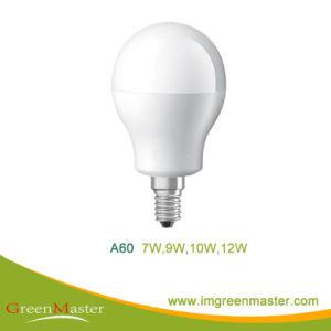 A60 9W Plastic Aluminum LED Bulb pictures & photos