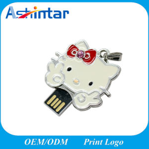Mini Metal USB Memory Flash Metal Cartoon USB Pendrive pictures & photos