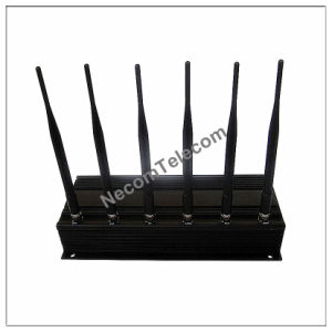 New Powerful GPS/4G/3G/WiFi Signal Jammer Cellphone Blocker, CDMA/PCS/GSM Mobile Phone Jammer pictures & photos