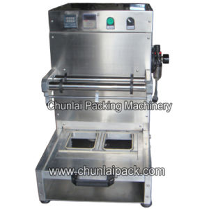 Automatic Pneumatic Tray Sealing Machine pictures & photos