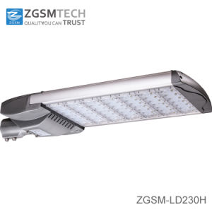 230W Vertical/Horizontal Installation LED Street Light with Philips LED Chips pictures & photos