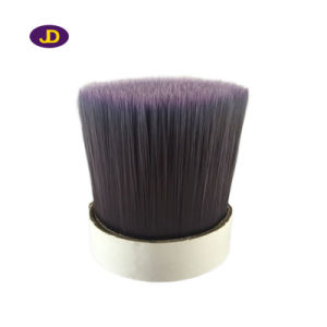 Transparent Pet Synthetic Fiber Brush Hair pictures & photos