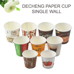 High Quality Food Grade Mini Taste Paper Coffee Cup pictures & photos