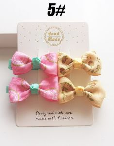 2017 Wholesale Bowknot Hair Clip Hairpin Fashion Baby Hair Accessories pictures & photos
