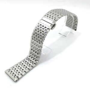 Silver Solid Stainless Steel Watch Bands pictures & photos