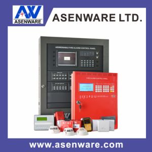 Wired Asenware Addressable Fire Alarm Smoke Detector for Warehouse pictures & photos