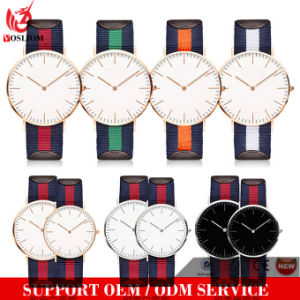 Yxl-600 2016 New Fashion Man Watches Dw Type Nylon Nato Strap Wrist Men Watches pictures & photos