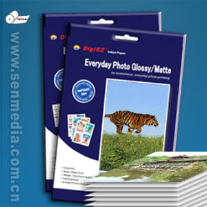 Double Sides A4 260g Glossy Inkjet Photo Paper pictures & photos