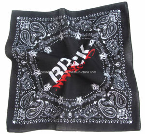 China Factory OEM Produce Customized Soft Cotton 22*22 Inch Headwear Scarf pictures & photos