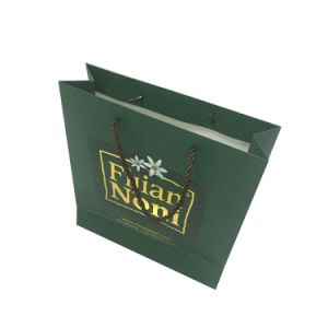 Golden Stamp Color Paper Bag pictures & photos