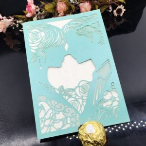 Fancy Hollowed-out Invitation Card Custom Greeting Card Printing pictures & photos