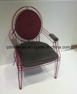 Stainless Steel Metal Lines Leisure Chair Hotel Coffee Chair Art Chair (M-X3001) pictures & photos