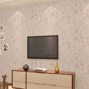 Seamless Classic Luxury Embossing Flower Wallpaper Fabric Livingroom Moisture-Proof pictures & photos
