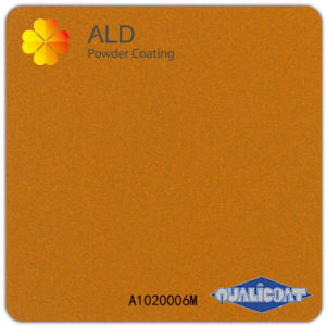 A1020006m Exterior Electrostatic Epoxy Polyester Superdurable Spray Meatllic Powder Coating pictures & photos