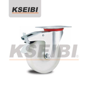 Industrial Swivel Kseibi PP Caster for Trolley pictures & photos