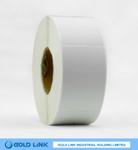 Self Adhesive Paper Label with High Gloss Sheet pictures & photos