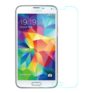 Clear Phone Accessories Tempered Glass Screen Protector for Samsung Galaxy S5