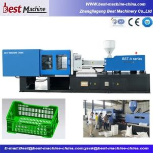 Automatic Injection Molding Machine for Plastic Basket pictures & photos