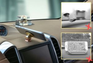 360 Degree Rotating Metal Magnet Car Phone Holder pictures & photos