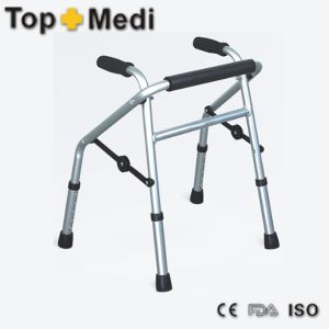 Lightweight Handicapped Disabled Walking Aids Adult Rollator Walker pictures & photos