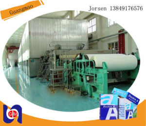 Advanced 1575mm A4 Printing Paper Machine Book Paper machinery pictures & photos