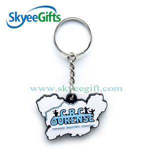 Promotion Cartoon 3D Soft Rubber PVC Keychain pictures & photos