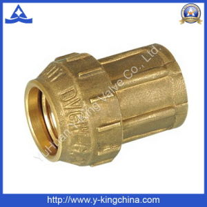 High Quality Brass Male Tee Connector Fittings (YD-6042) pictures & photos
