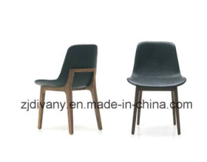 2015 Latest Modern Style Wood Black Fabric Chair (C-50) pictures & photos