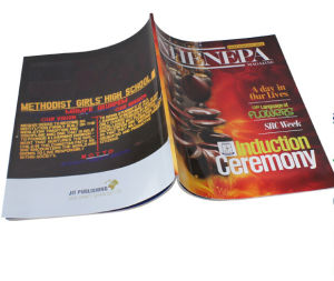 Lower Cost Colourful Magazine Printing Service (jhy-021) pictures & photos