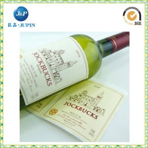 Wholesales Own Design Sticker Label for Wine (JP-s028) pictures & photos
