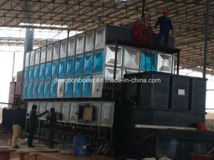 Energy Saving Double Drum Biomass & Coal & Rice Husk Steam Boiler pictures & photos