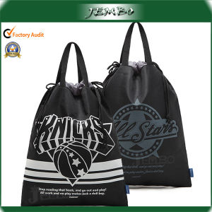 Promotion Fashion Design Recycled Drawstring Tote Bag pictures & photos