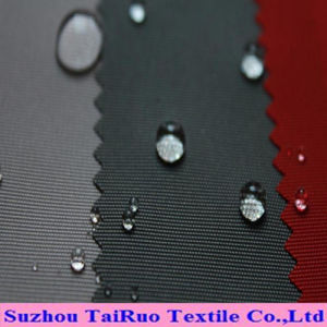 The Polyester Oxford with Dyed and Coated for Garment Fabric pictures & photos